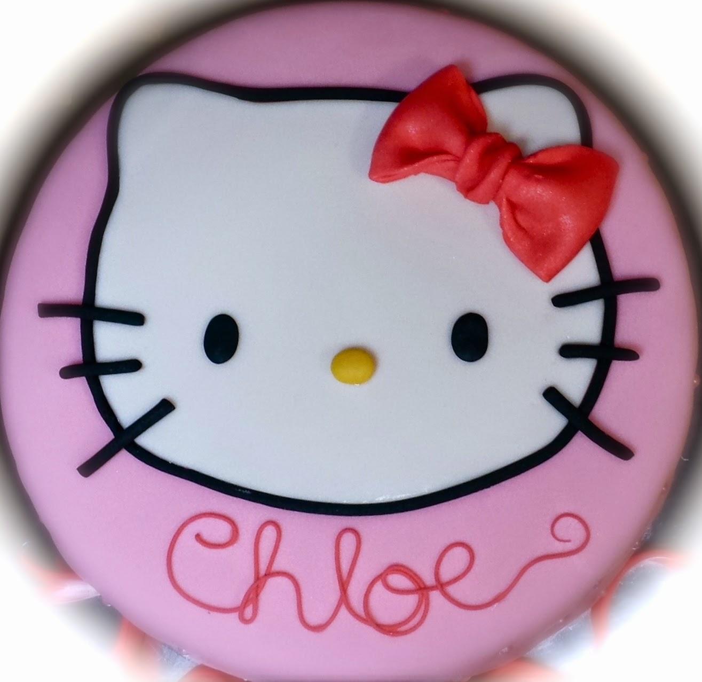Cake Blog: Hello Kitty Cake Topper