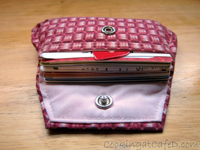 Gift Card Purse for Organization