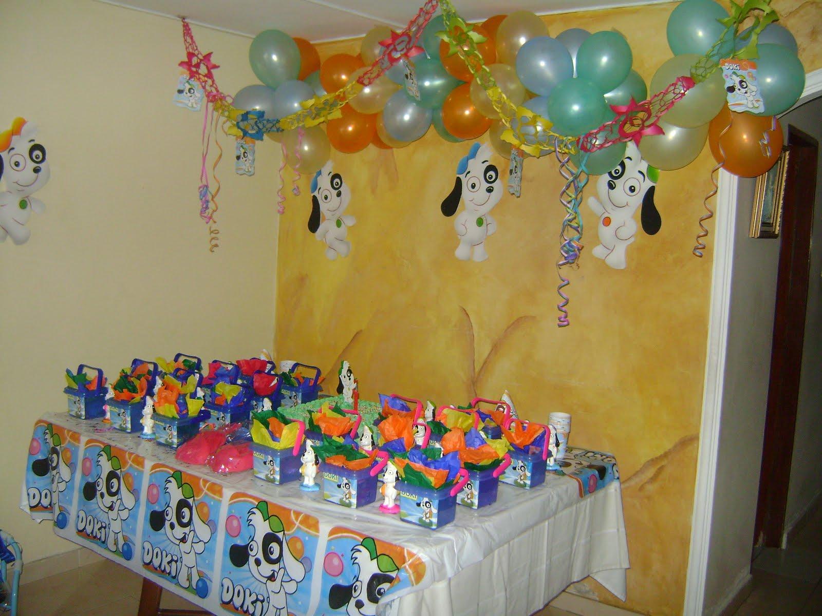 Decoracion Para Fiesta De Doki