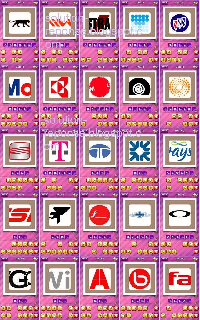Solutions deviner logo what's the brand Album 7