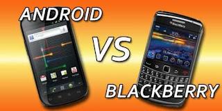 android dan blackberry