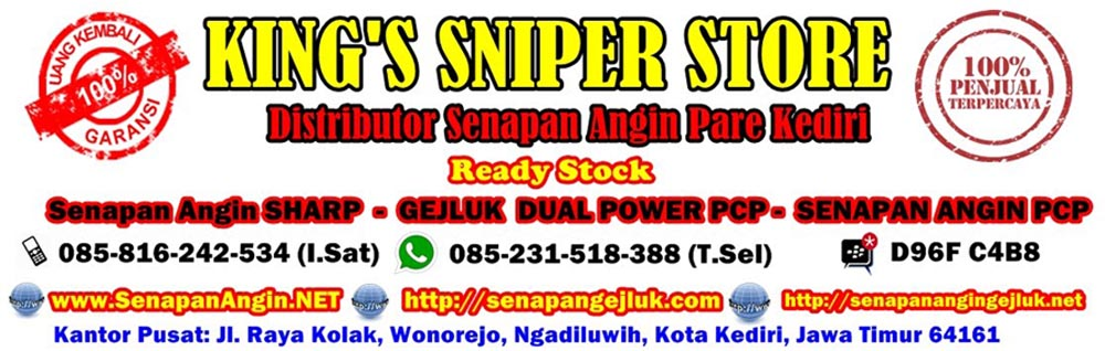 Distributor Senapan Angin di Banjarmasin WA : 085-231-518-388