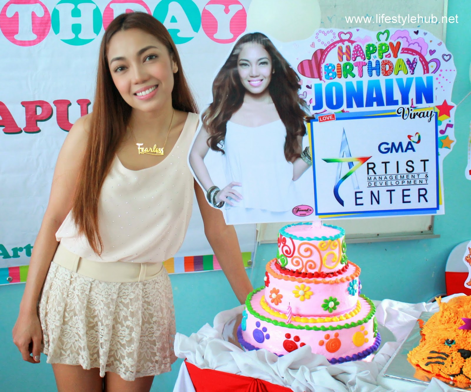 jonalyn viray birthday celebration fearless