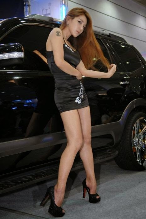 Girls Of The Seoul Auto Salon Damn Cool Pictures