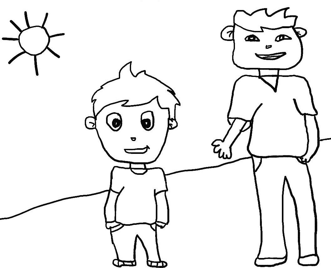 Dibujos seres vivos para colorear - Imagui