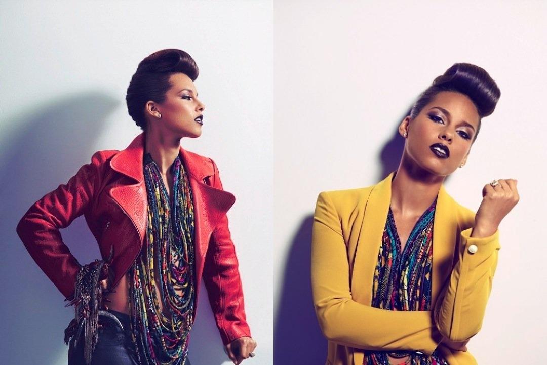 Alicia Keys : Bad Girl On Vibe Magz