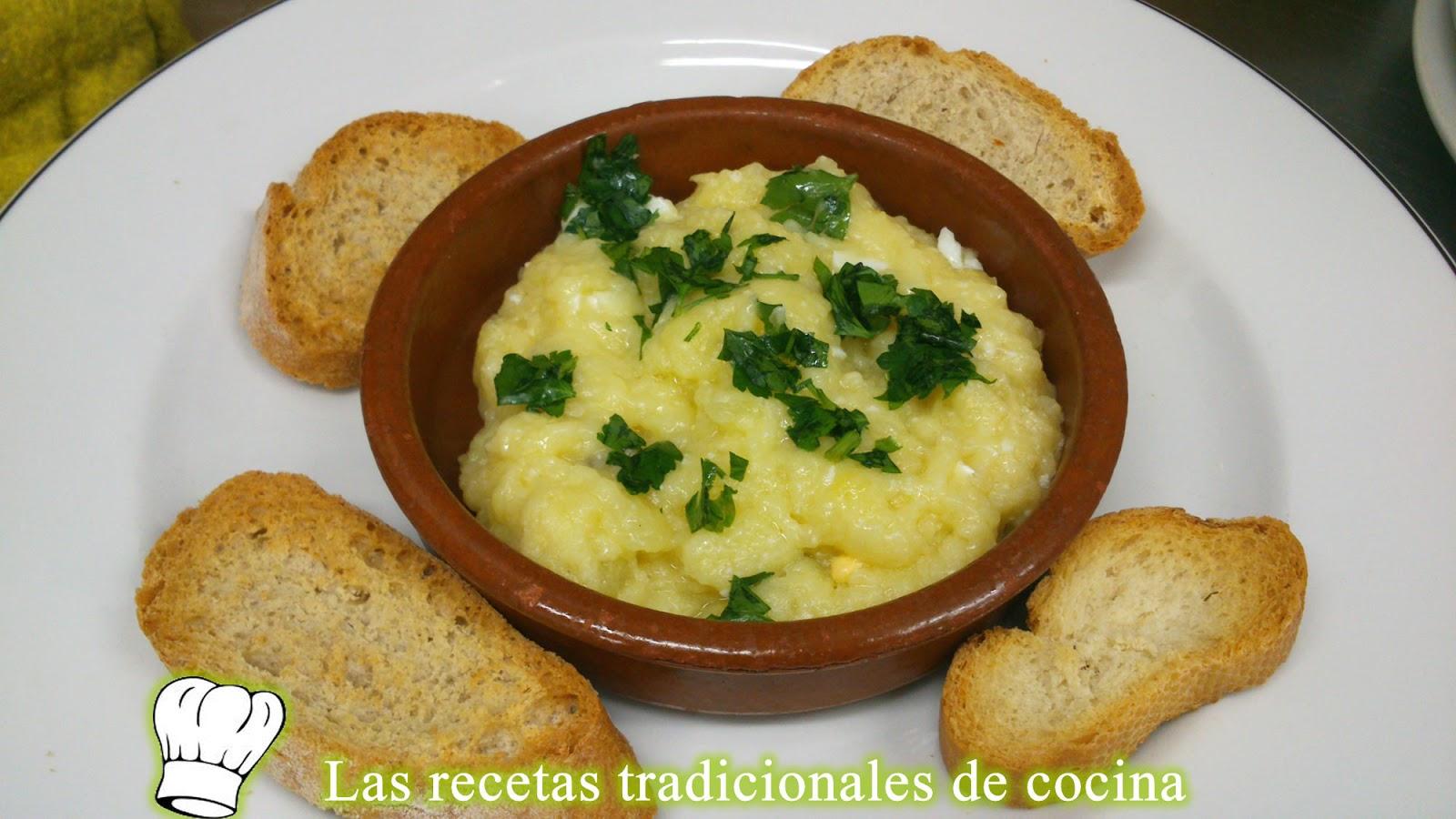 Recetas de cocina receta del ajoarriero - Recets de cocina ...