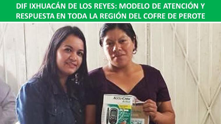 DIF IXHUACÁN DE LOS REYES: MODELO DE ATENCIÓN