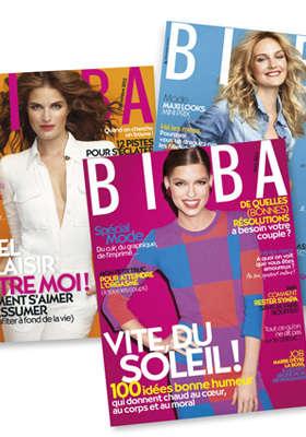 Abonnement d'1 an à Biba Magazine : 12 Numéros pour 4€ !