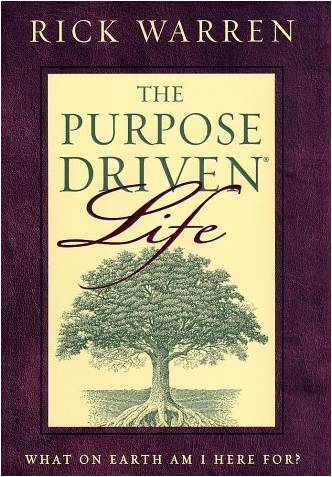 purpose driven church book review The purpose-driven life takes the groundbreaking message of the award-winning purpose-driven church and goes deeper, applying it to the lifestyle of individual christians this book helps readers understand god's incredible plan for their lives.