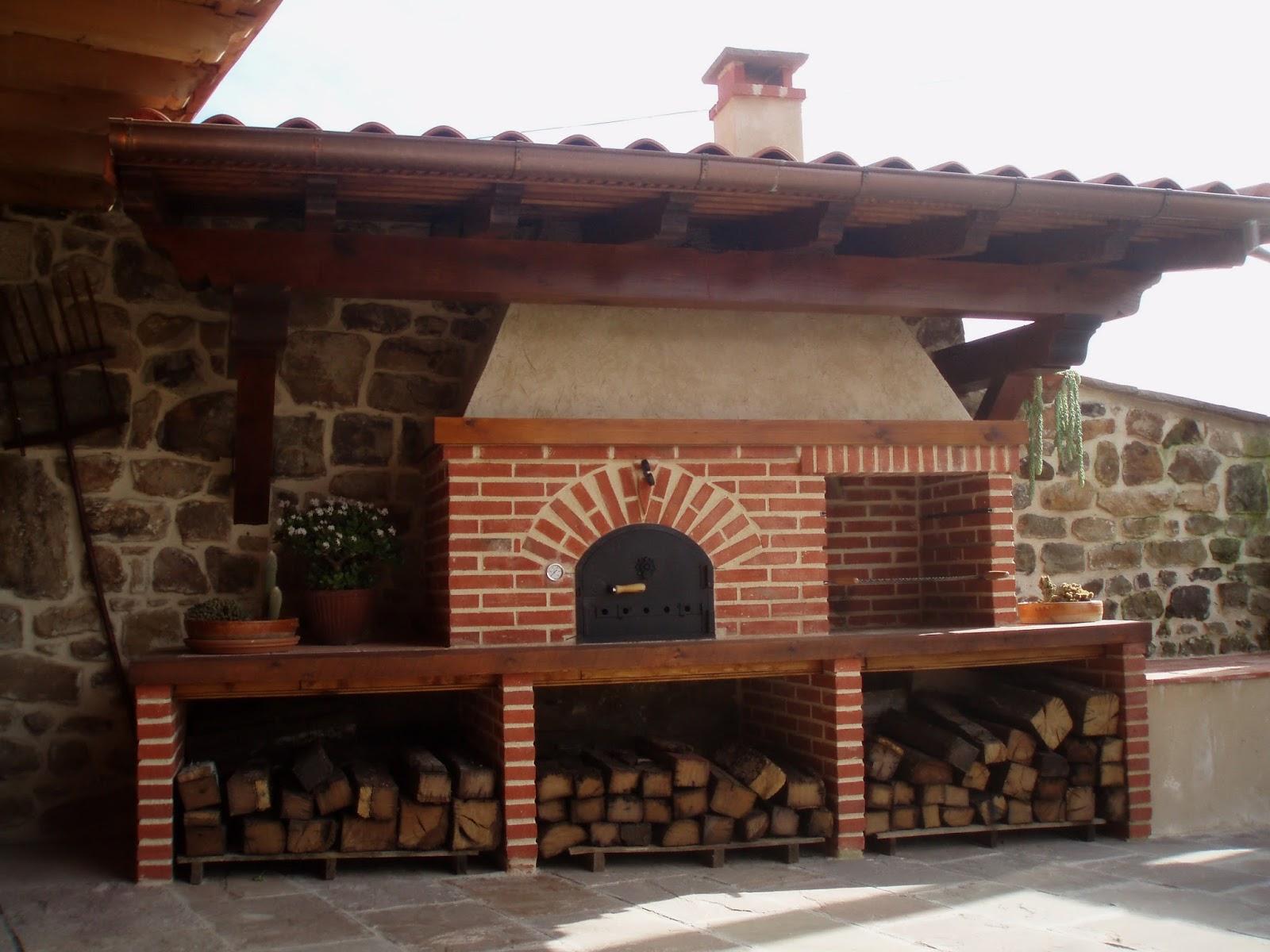 La fabrica de pereruela horno y barbacoa de jos antonio - Fotos de hornos de lena ...