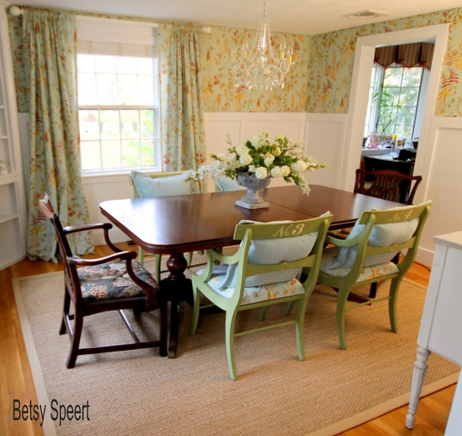 Betsy Speert 39 S Blog A Cottage Dining Room For Miriam