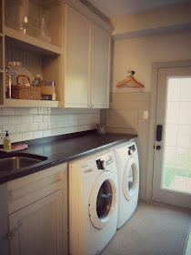 the DIY laundry room