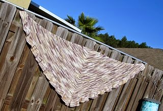 Simple Joys Shawl