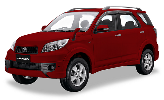 Toyota New Rush Maroon Mica