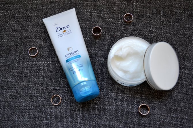 Dove Oxygen Moisture Souffle Treatment