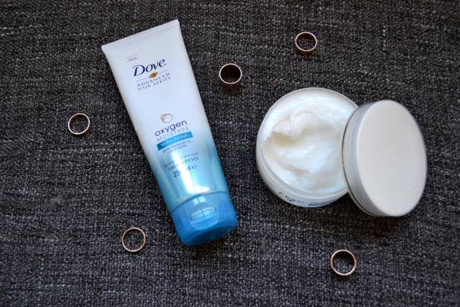 Dove Oxygen Moisture Souffle Treatment