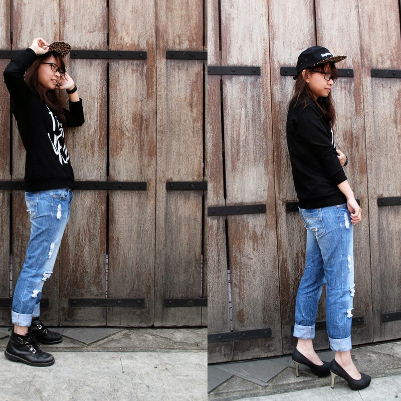 [ BLOG ] What a pair of shoes could do.. it's not an #ootd