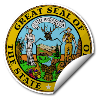 Sticker of Idaho Seal