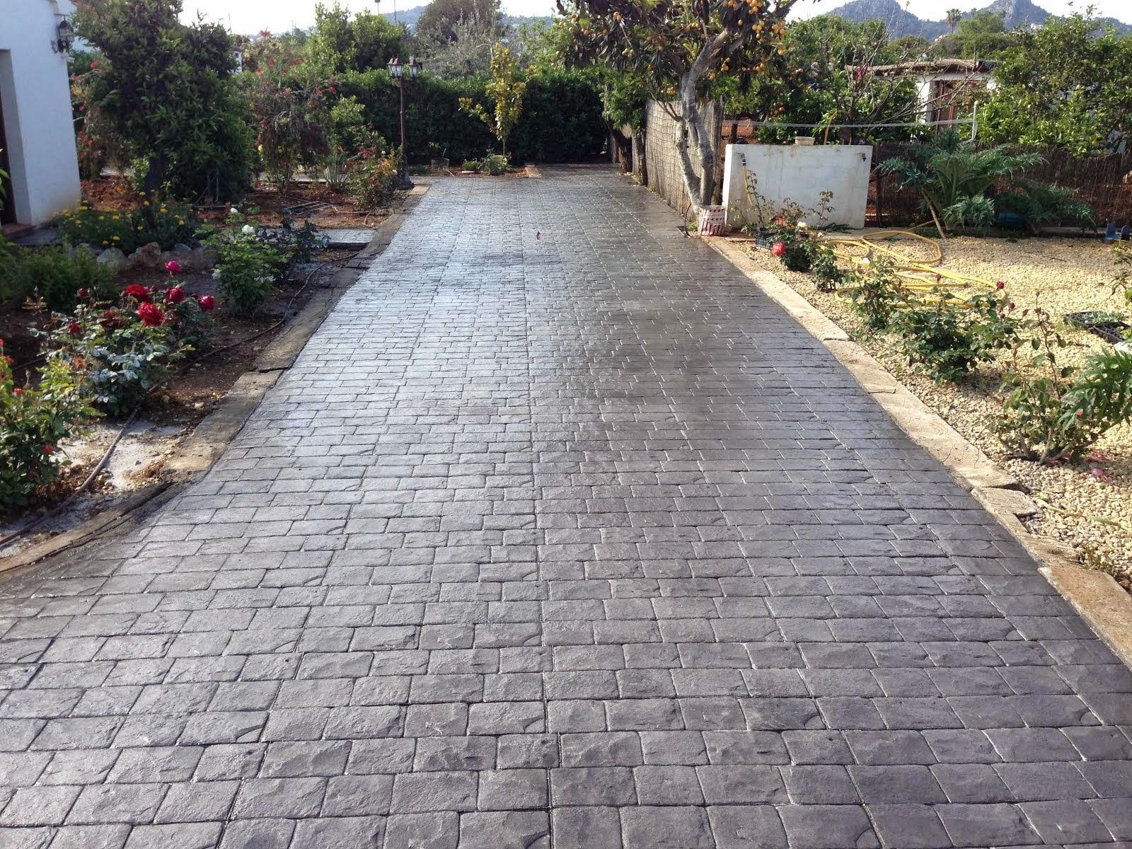 Hormigon impreso novelda trabajo garantizado en novelda - Pavimento cemento pulido ...
