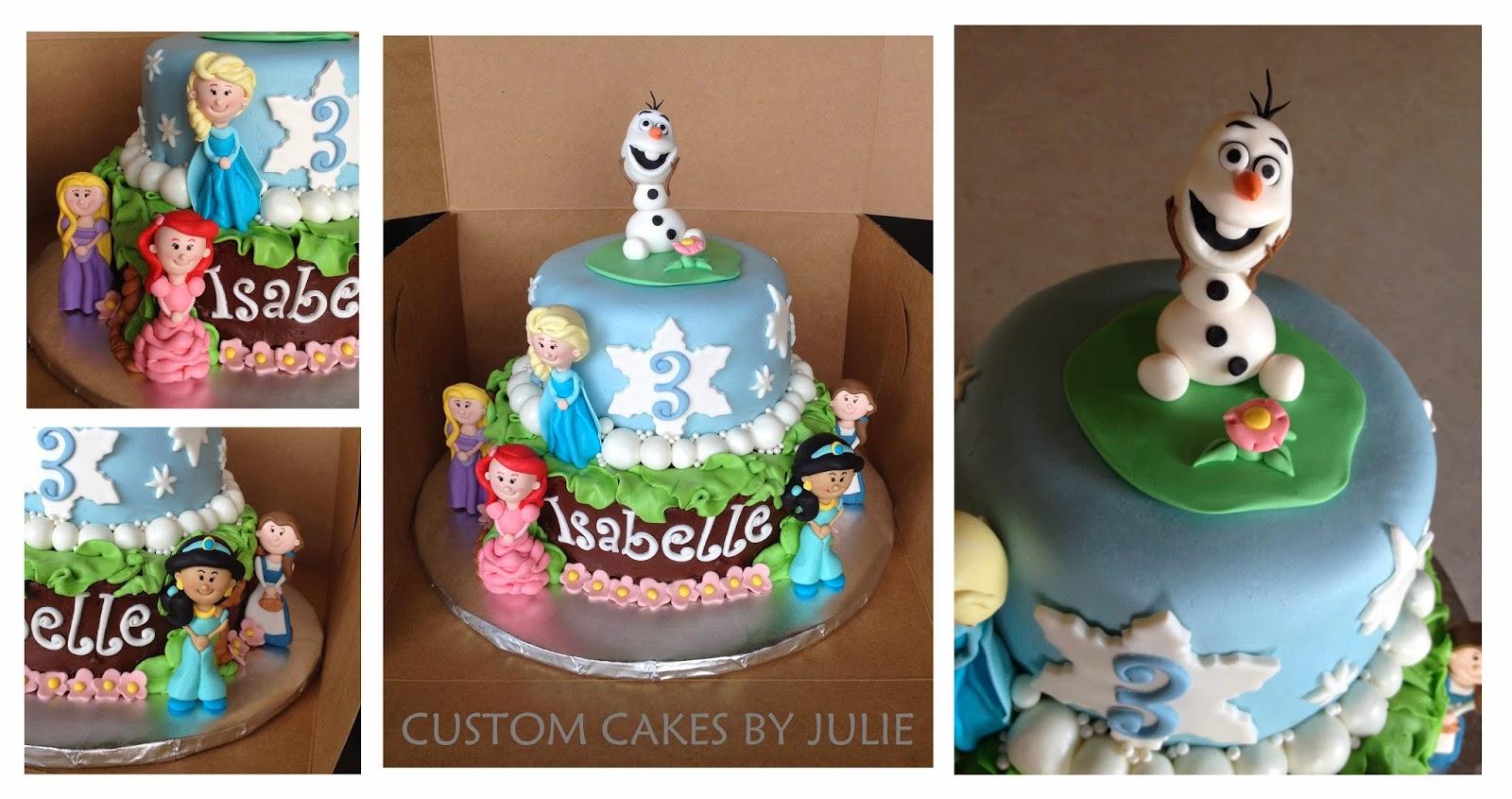 Olaf Edible Cake Topper