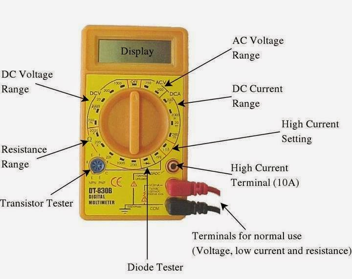 Construction Of Multimeter Electrical Engineering Pics