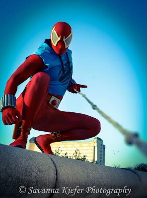 cosplay araña escarlata