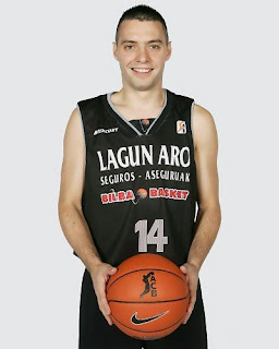 Javi Salgado, jugador de baloncesto