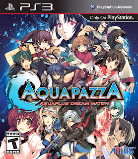 aquapazza box art AquaPazza (PS3)   Box Art & Website Link