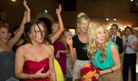 When Bridesmaids Wanted Bouquet Really Bad