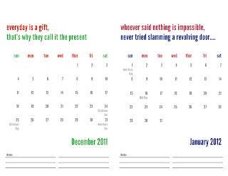 free 2011 calendar print img 6