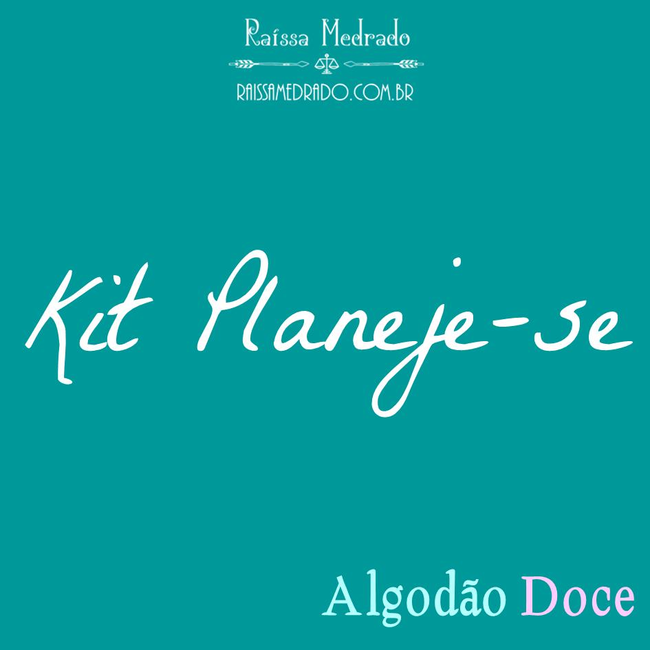 Kit Planeje-se (Algodão Doce)