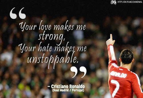 Cristiano Ronaldo - Best and Most famous Inspirational Quotes