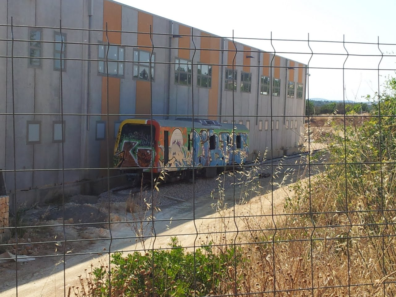 El tren de Llevant arriba a Son Carrió