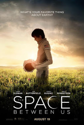The Space Between Us 2017 DVD R1 NTSC Latino