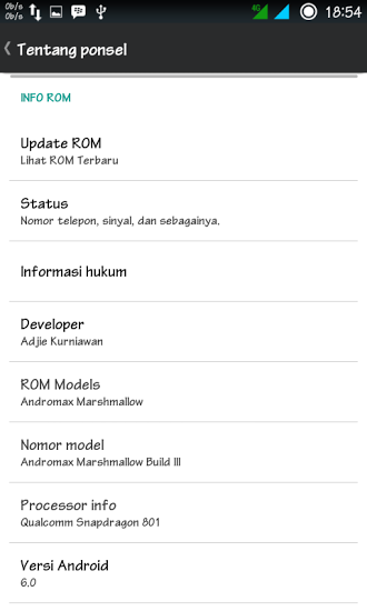 custom rom andromax c3 marshmallow build 3