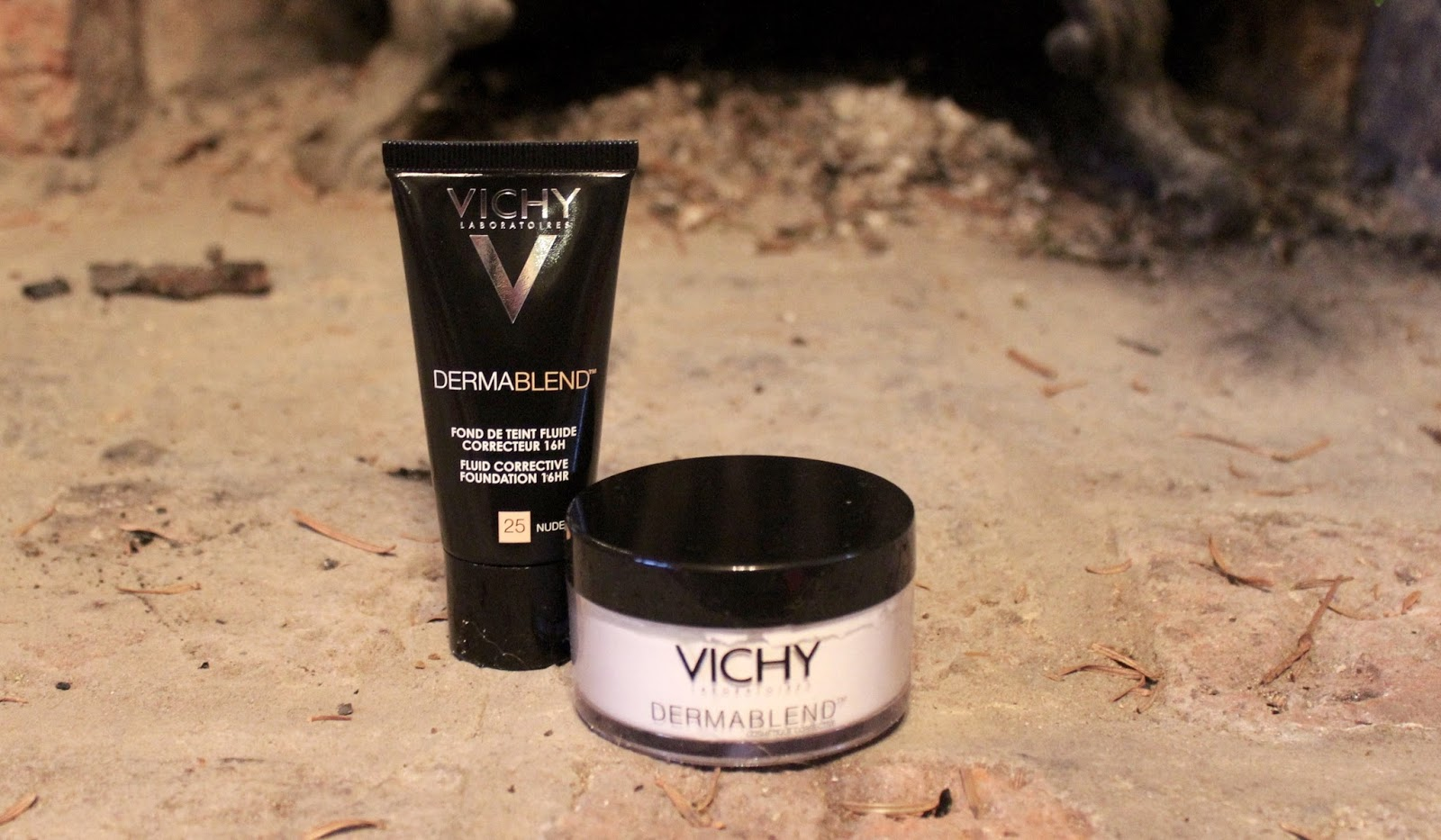 Vichy Dermablend foundation and powder