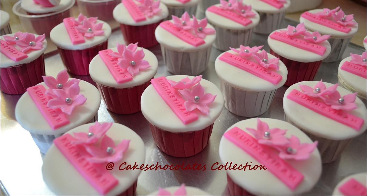 Fondant Cupcake Decorations