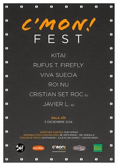 C'Mon! Fest 2014 Murcia