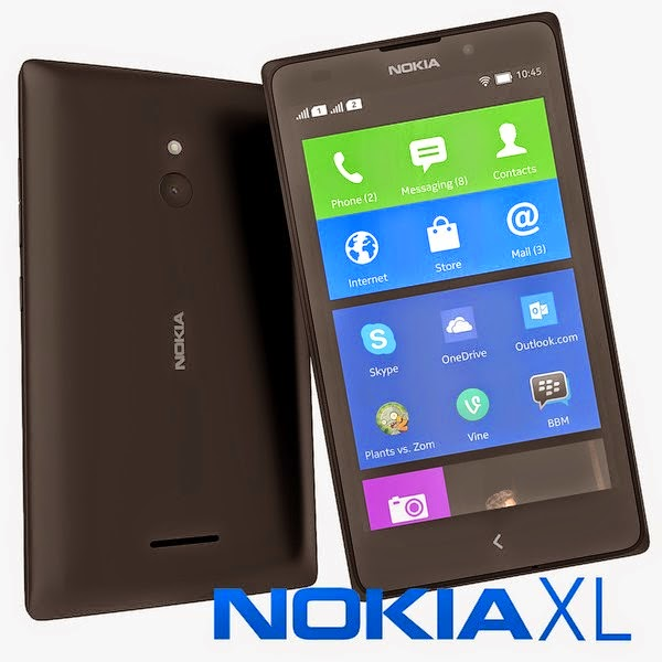 Harga HP Android  Nokia XL Terbaru