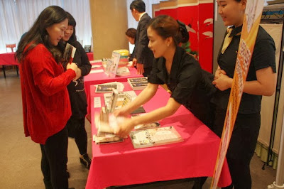 Postnatal care massage program, Yakson House briefing session