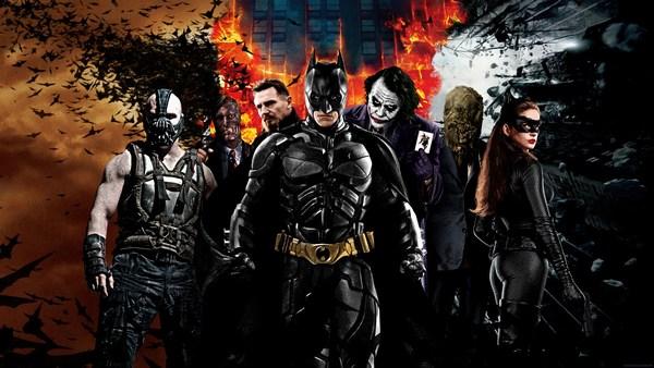 Batman Arkham Origins Movie Characters HD Poster