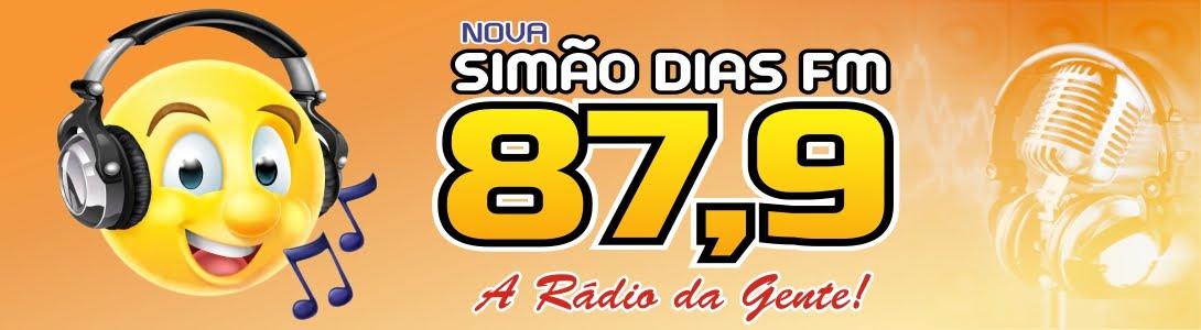 Simão Dias FM 87,9 MHz - A Rádio da Gente !