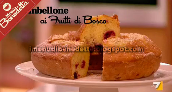 Ciambellone ai Frutti di Bosco di Benedetta Parodi