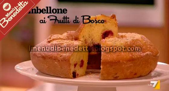 Ciambellone ai Frutti di Bosco di Benedetta Parodi