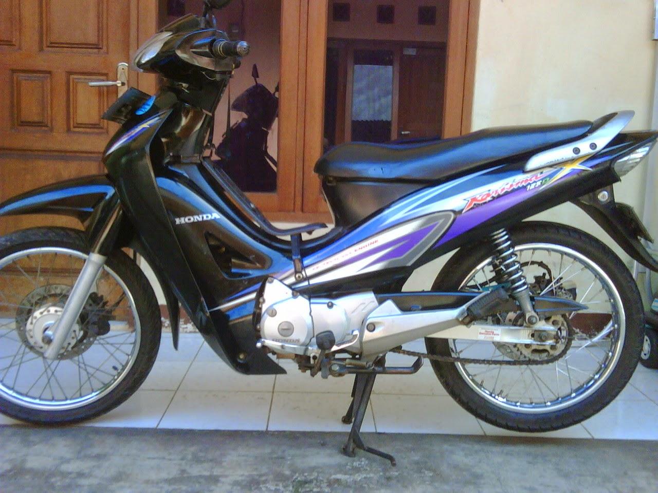 Download Kumpulan 71 Modifikasi Motor Honda Karisma X 125 Terupdate