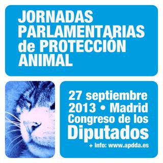 JORNADAS PARLAMENTARIAS de PROTECCIÓN ANIMAL