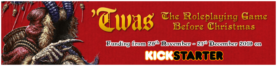 'TWAS - The Roleplaying Game Before Christmas is on Kickstarter