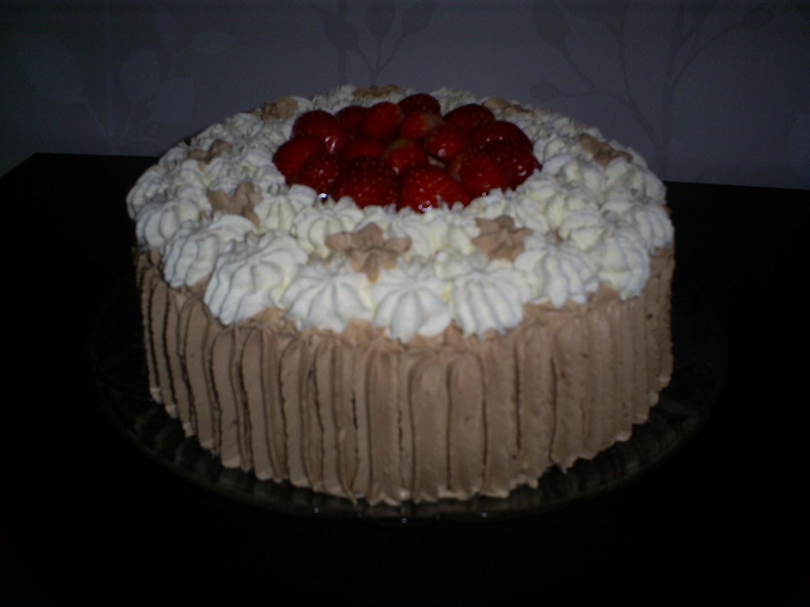 tårta utan marsipan