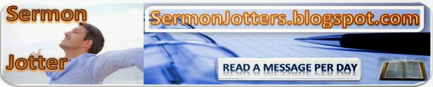 Sermon Jotter